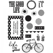 Fancy Pants Clear Stamps - The Good Life - 1652
