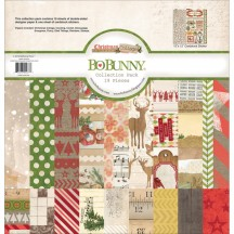 "Bo Bunny Christmas Collage 12""x12"" Collection Pack 16616477"