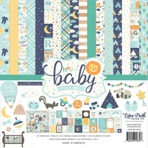 "Echo Park Hello Baby It's A Boy 12""x12"" Collection Kit BG172016"