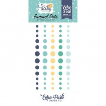 Echo Park Hello Baby It's A Boy Enamel Dots navy, green, yellow BB172028