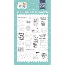 Echo Park Hello Baby It's A Boy New Arrival Clear Stamp Set BB172045