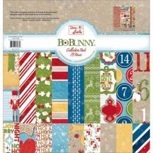 "Bo Bunny Dear Santa 12""x12"" Collection Pack 18416083"