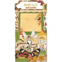 Bo Bunny Enchanted Harvest Noteworthy Die-Cut Journaling & Accents Cardstock 18813058