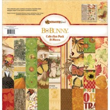 "Bo Bunny Enchanted Harvest 12""x12"" Collection Pack 18816062"