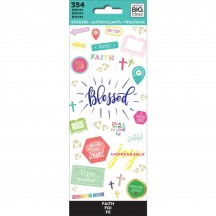 Me & My Big Ideas The Happy Planner Blessed Value Pack Stickers PPSM-19