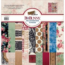 "Bo Bunny Love & Lace 12""x12"" Collection Pack 19016218"