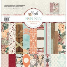 "Bo Bunny Bella Rosa 12""x12"" Collection Pack 20116624"