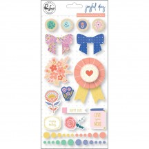 Pinkfresh Studio Joyful Day Mixed Embellishments RC201219