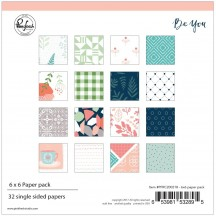 "Pinkfresh Studio Be You 6""x6"" Paper Pack PFBY200218"