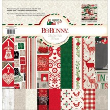 """Bo Bunny Merry & Bright 12""""x12"""" Collection Pack 20316670"""