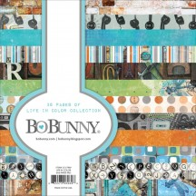 "Bo Bunny Life In Color 6""x6"" Paper Pad 21317969"