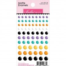 Bella Blvd Halloween Mix Matte Enamel Dots BB2138