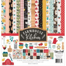 "Echo Park Farmhouse Kitchen 12""x12"" Collection Kit FK216016"
