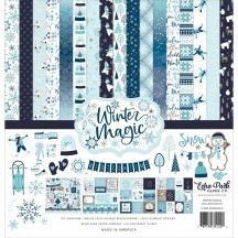 "Echo Park Winter Magic 12""x12"" Collection Kit WIM223016"