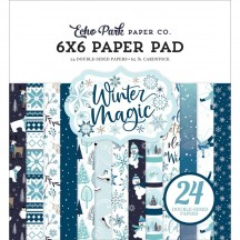 "Echo Park Winter Magic 6""x6"" Double-Sided Paper Pad WIM223023"