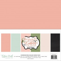 "Echo Park Our Wedding 12""x12"" Solids Paper Kit OW224015"