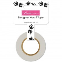 Bella Blvd Cooper Dog Paw Prints Decorative Washi Tape 2253
