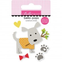 Bella Blvd Cooper Dog Oscar Bella-Pops Dimensional Sticker 2255
