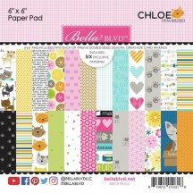 "Bella Blvd Chloe Cat 6""x6"" Paper Pad 2283"