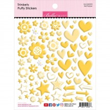 Bella Blvd Besties Trinkets Bell Pepper Yellow Puffy Stickers BB2290