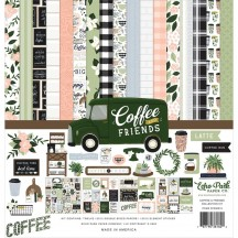 "Echo Park Coffee & Friends 12""x12"" Collection Kit CF230016"