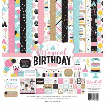 "Echo Park Magical Birthday Girl 12""x12"" Collection Kit MBG231016"