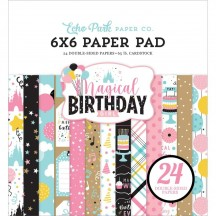 "Echo Park Magical Birthday Girl 6""x6"" Double-Sided Paper Pad MBG231023"