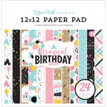 "Echo Park Magical Birthday Girl 12""x12"" Paper Pad MBG231030"