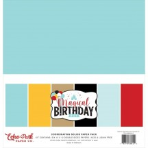 "Echo Park Magical Birthday Boy 12""x12"" Solids Paper Kit MBB232015"