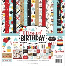 "Echo Park Magical Birthday Boy 12""x12"" Collection Kit MBB2320116"