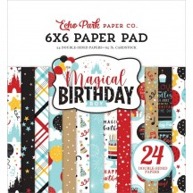 "Echo Park Magical Birthday Boy 6""x6"" Double-Sided Paper Pad MBB232023"