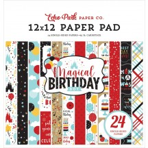 "Echo Park Magical Birthday Boy 12""x12"" Paper Pad MBB232030"