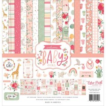 "Echo Park Welcome Baby Girl 12""x12"" Collection Kit WBG233016"