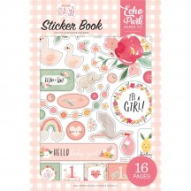 Echo Park Welcome Baby Girl Sticker Book WBG233029