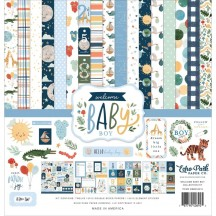 "Echo Park Welcome Baby Boy 12""x12"" Collection Kit WBB234016"