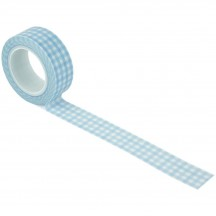 Echo Park Welcome Baby Boy Perfectly Plaid Decorative Washi Tape WBB234026