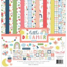 "Echo Park Little Dreamer Girl 12""x12"" Collection Kit LD237016"