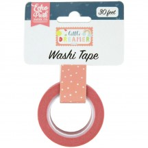 Echo Park Little Dreamer Girl Sweet Dots Decorative Washi Tape LD237027