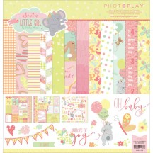 """Photoplay About A Little Girl 12""""x12"""" Collection Pack ALG2466"""