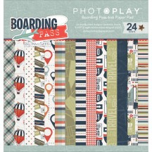 "Photoplay Boarding Pass 6""x6"" Double-Sided Paper Pad BP2491"