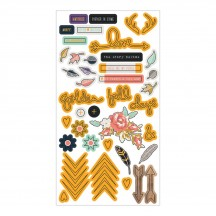 Fancy Pants Designs Golden Days Puffy Stickers 2701