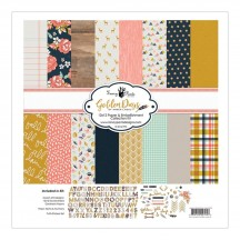 "Fancy Pants Golden Days 12""x12"" Collection Kit 2704"