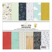 "Fancy Pants Dream Big 6""x6"" Paper Pad 36 sheets 2835"