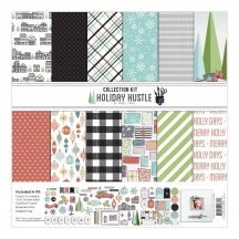 "Fancy Pants Holiday Hustle 12""x12"" Christmas Collection Kit 2861"