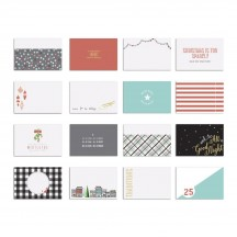 "Fancy Pants Holiday Hustle 4""x6"" Christmas Brag Cards 2863"