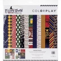 "Photoplay Wizard World Colorplay 12""x12"" Variety Paper Pack WW2991"