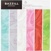 "Bazzill Marble 6""x6"" Paper Pad 24 sheets 300562"