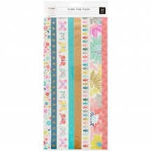 Pink Paislee Paige Evans Turn The Page Washi Tape Booklet 310573