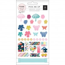 Pink Paislee Paige Evans Pick Me Up Haberdashery Button Embellishments 310638
