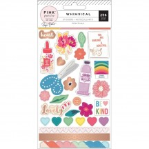 Pink Paislee Paige Evans Whimsical Sticker Book 310726